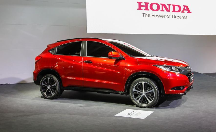 Honda HR-V prototype - Slide 1