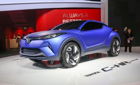Toyota C-HR Concept: Typical Boring Toyota Name, Atypically Stimulating Toyota Styling