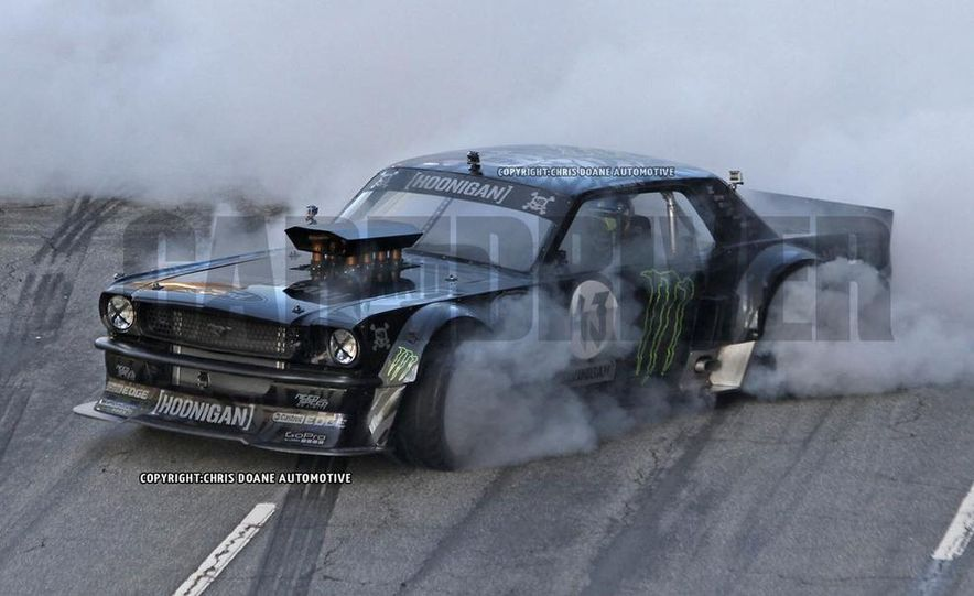 Ken Block Spied Filming Gymkhana 7: Wave Goodbye to His Fiesta, Say Hello to the World's Most Bad-Ass 1960s Mustang - Slide 1