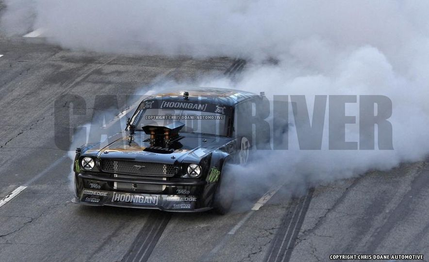 Ken Block Spied Filming Gymkhana 7: Wave Goodbye to His Fiesta, Say Hello to the World's Most Bad-Ass 1960s Mustang - Slide 3