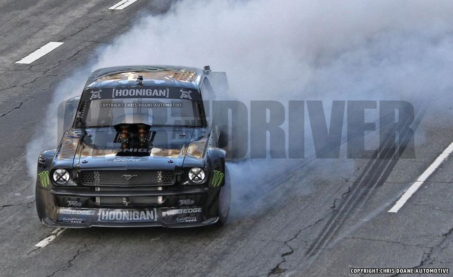 Ken Block Spied Filming Gymkhana 7: Wave Goodbye to His Fiesta, Say Hello to the World's Most Bad-Ass 1960s Mustang - Slide 4