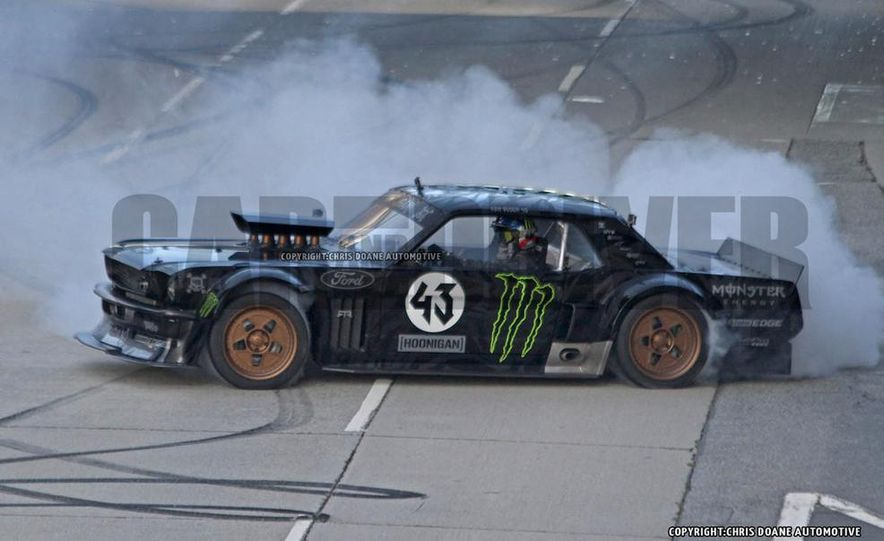 Ken Block Spied Filming Gymkhana 7: Wave Goodbye to His Fiesta, Say Hello to the World's Most Bad-Ass 1960s Mustang - Slide 5
