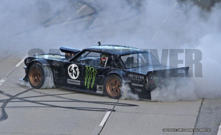 Ken Block Spied Filming Gymkhana 7: Wave Goodbye to His Fiesta, Say Hello to the World's Most Bad-Ass 1960s Mustang - Slide 6
