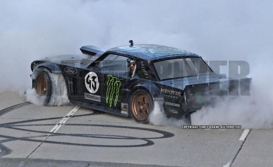 Ken Block Spied Filming Gymkhana 7: Wave Goodbye to His Fiesta, Say Hello to the World's Most Bad-Ass 1960s Mustang - Slide 7