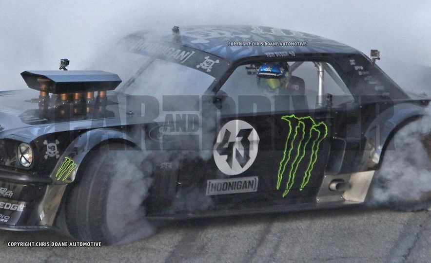 Ken Block Spied Filming Gymkhana 7: Wave Goodbye to His Fiesta, Say Hello to the World's Most Bad-Ass 1960s Mustang - Slide 8