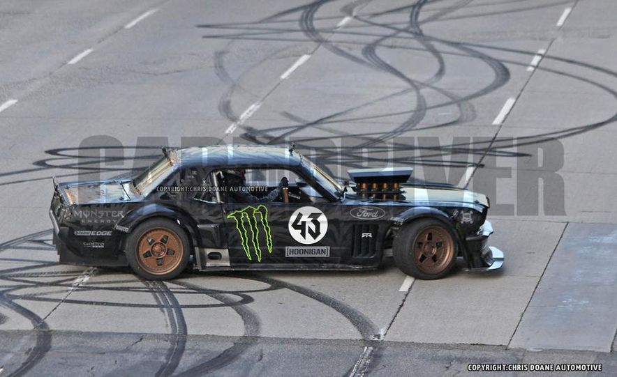 Ken Block Spied Filming Gymkhana 7: Wave Goodbye to His Fiesta, Say Hello to the World's Most Bad-Ass 1960s Mustang - Slide 10