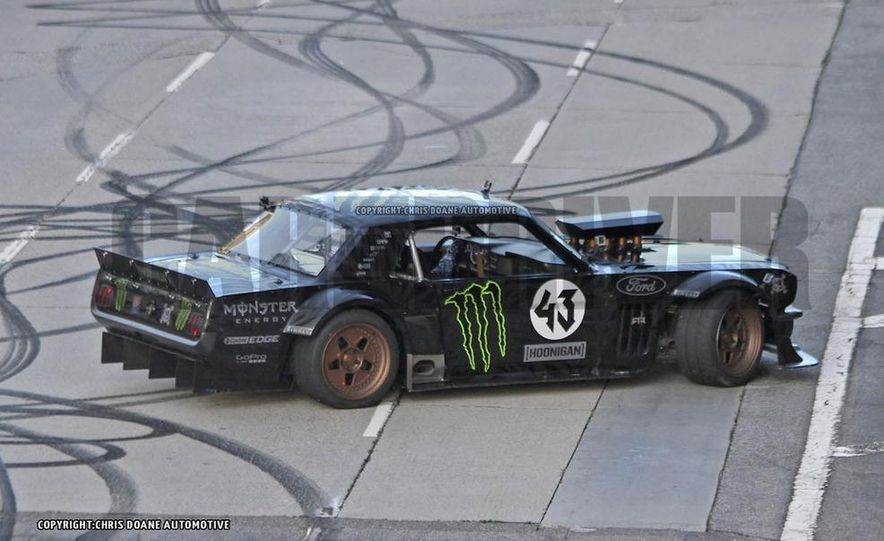Ken Block Spied Filming Gymkhana 7: Wave Goodbye to His Fiesta, Say Hello to the World's Most Bad-Ass 1960s Mustang - Slide 11