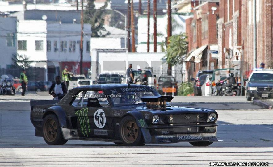 Ken Block Spied Filming Gymkhana 7: Wave Goodbye to His Fiesta, Say Hello to the World's Most Bad-Ass 1960s Mustang - Slide 12