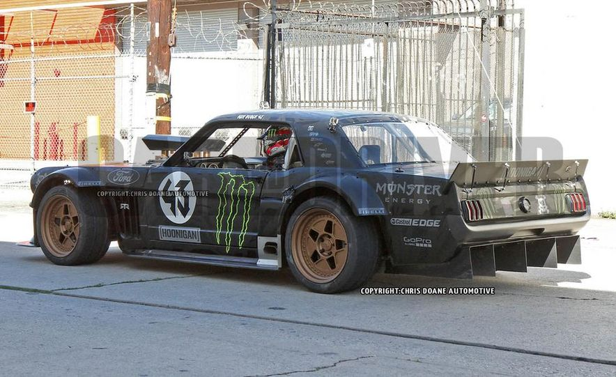 Ken Block Spied Filming Gymkhana 7: Wave Goodbye to His Fiesta, Say Hello to the World's Most Bad-Ass 1960s Mustang - Slide 13