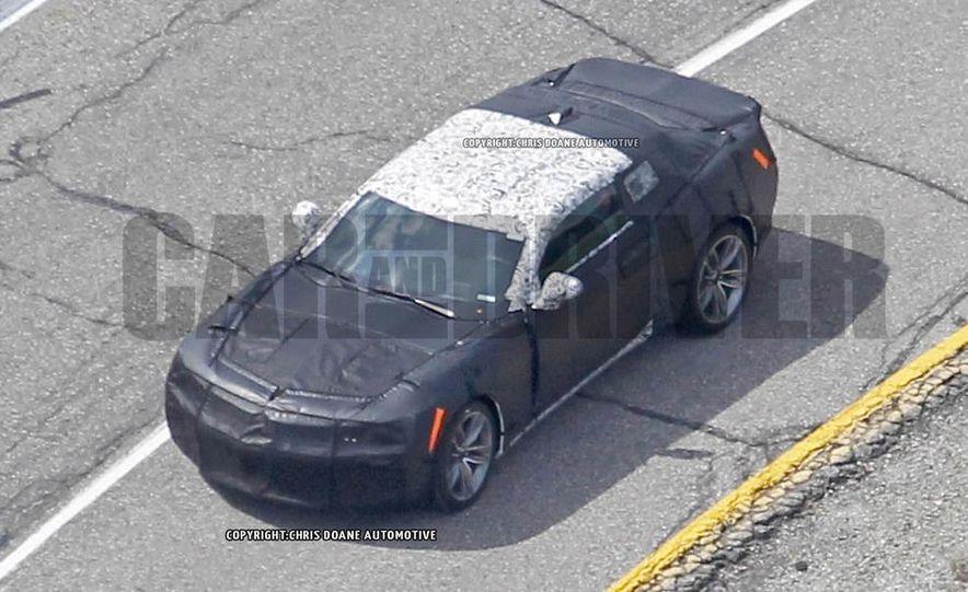 2016 Chevrolet Camaro SS (spy photo) - Slide 10