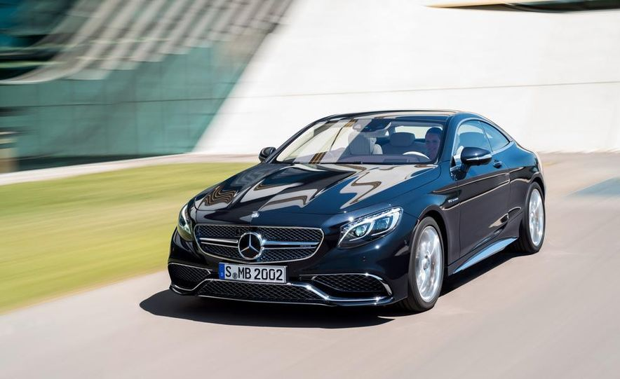 2015 Mercedes-Benz S65 AMG coupe - Slide 1