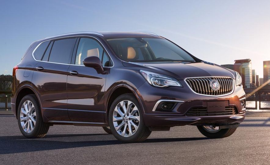 2015 Buick Envision (Asian spec) - Slide 1