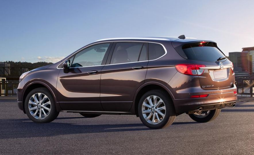 2015 Buick Envision (Asian spec) - Slide 3