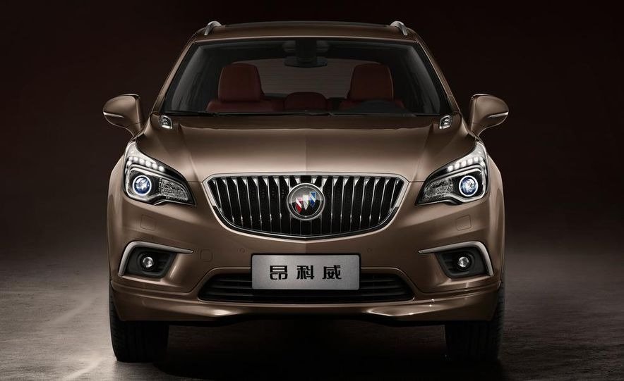 2015 Buick Envision (Asian spec) - Slide 6