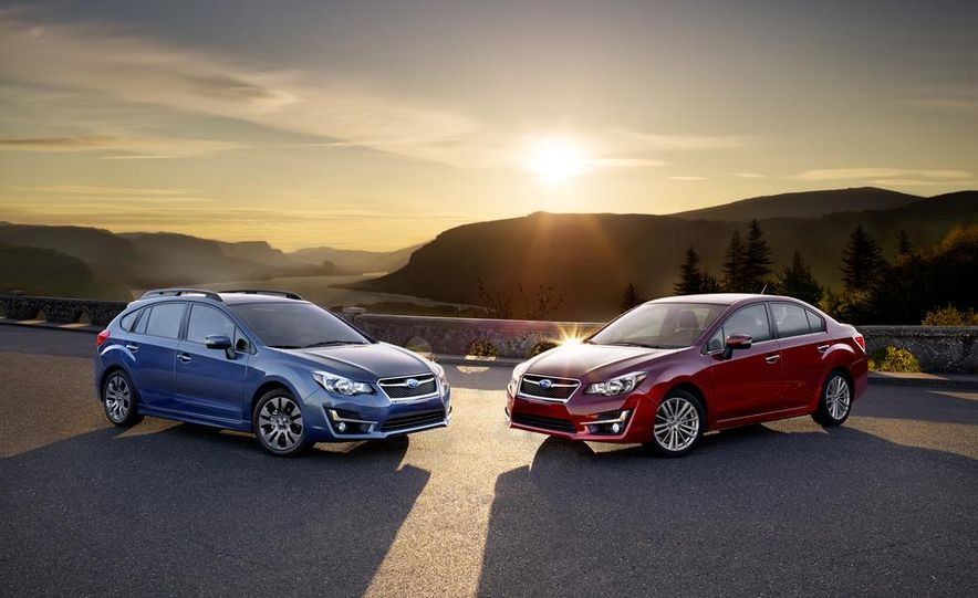 2015 Subaru Impreza hatchback and sedan - Slide 1