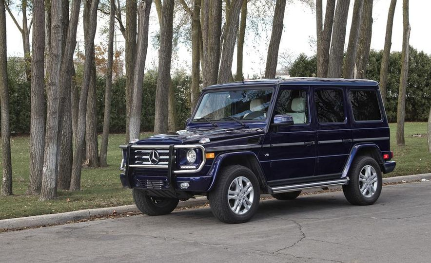 """2015 Mercedes-Benz G550 35th Anniversary Edition and 1988 Mercedes-Benz G-class """"Otto"""" - Slide 14"""