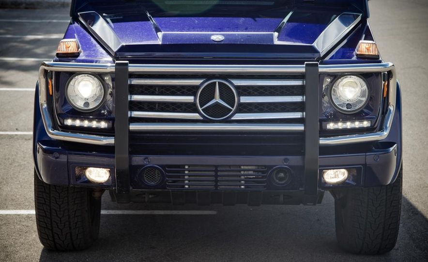 """2015 Mercedes-Benz G550 35th Anniversary Edition and 1988 Mercedes-Benz G-class """"Otto"""" - Slide 19"""