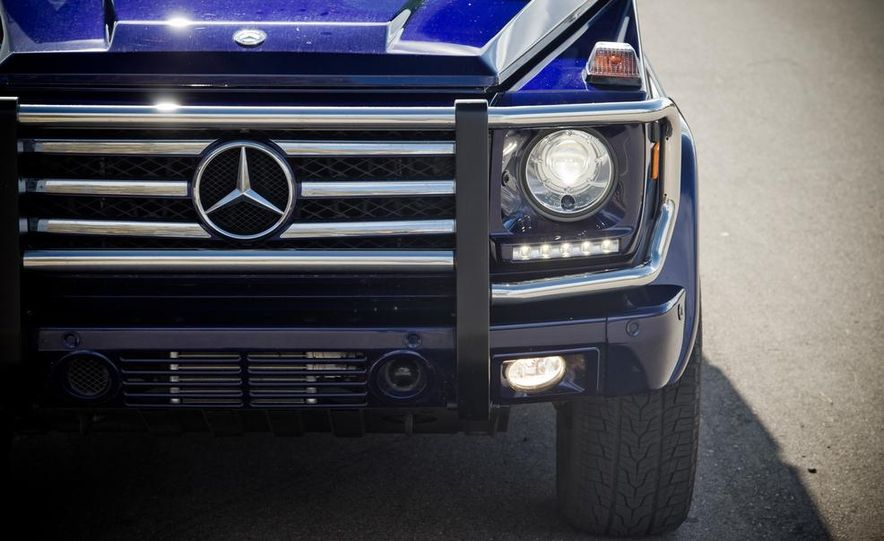 """2015 Mercedes-Benz G550 35th Anniversary Edition and 1988 Mercedes-Benz G-class """"Otto"""" - Slide 20"""