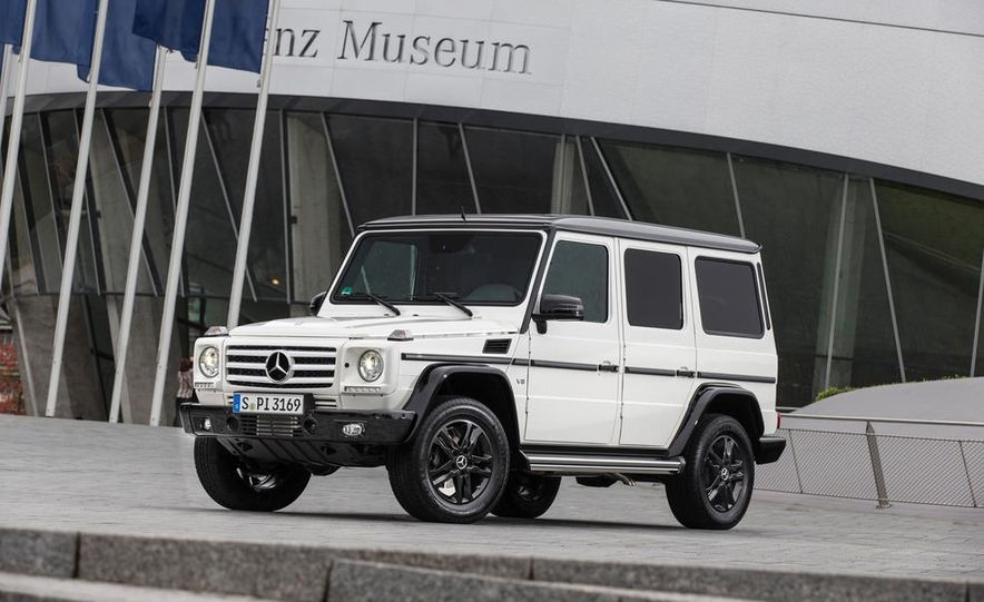 """2015 Mercedes-Benz G550 35th Anniversary Edition and 1988 Mercedes-Benz G-class """"Otto"""" - Slide 2"""