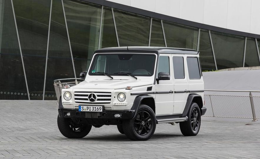 """2015 Mercedes-Benz G550 35th Anniversary Edition and 1988 Mercedes-Benz G-class """"Otto"""" - Slide 3"""