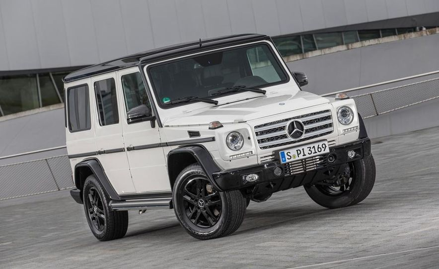 """2015 Mercedes-Benz G550 35th Anniversary Edition and 1988 Mercedes-Benz G-class """"Otto"""" - Slide 4"""