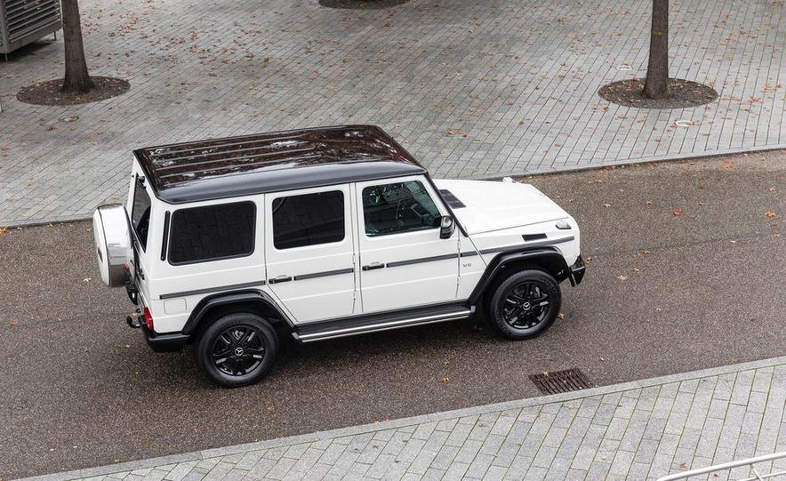 """2015 Mercedes-Benz G550 35th Anniversary Edition and 1988 Mercedes-Benz G-class """"Otto"""" - Slide 5"""