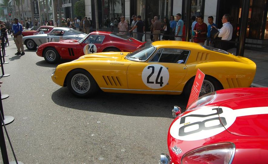 Ferrari 60th Anniversary Party: Celebrating 0 to 60 in America with 60 Classic Cars - Slide 1