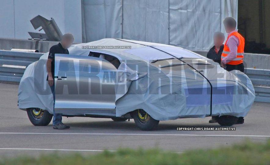 Mercedes-Benz secret concept vehicle (spy photo) - Slide 2