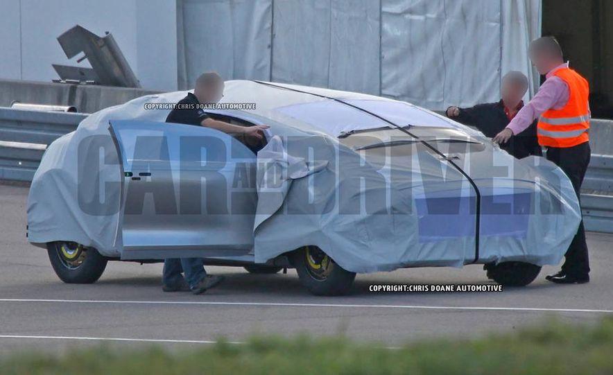 Mercedes-Benz secret concept vehicle (spy photo) - Slide 3