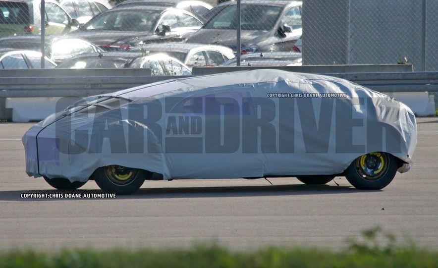 Mercedes-Benz secret concept vehicle (spy photo) - Slide 4