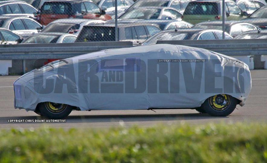 Mercedes-Benz secret concept vehicle (spy photo) - Slide 5