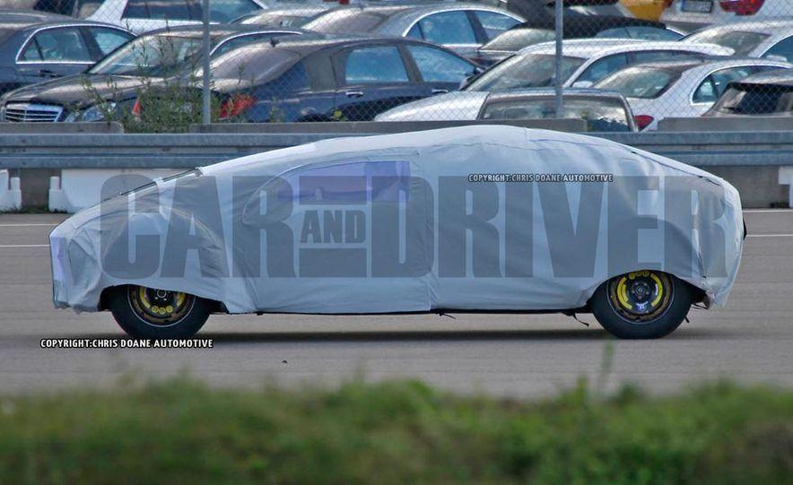 Mercedes-Benz secret concept vehicle (spy photo) - Slide 6