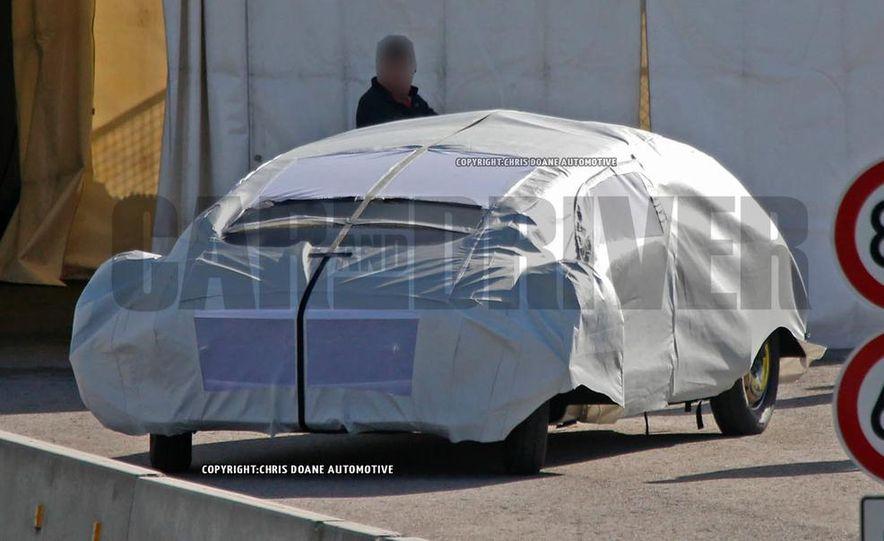 Mercedes-Benz secret concept vehicle (spy photo) - Slide 8