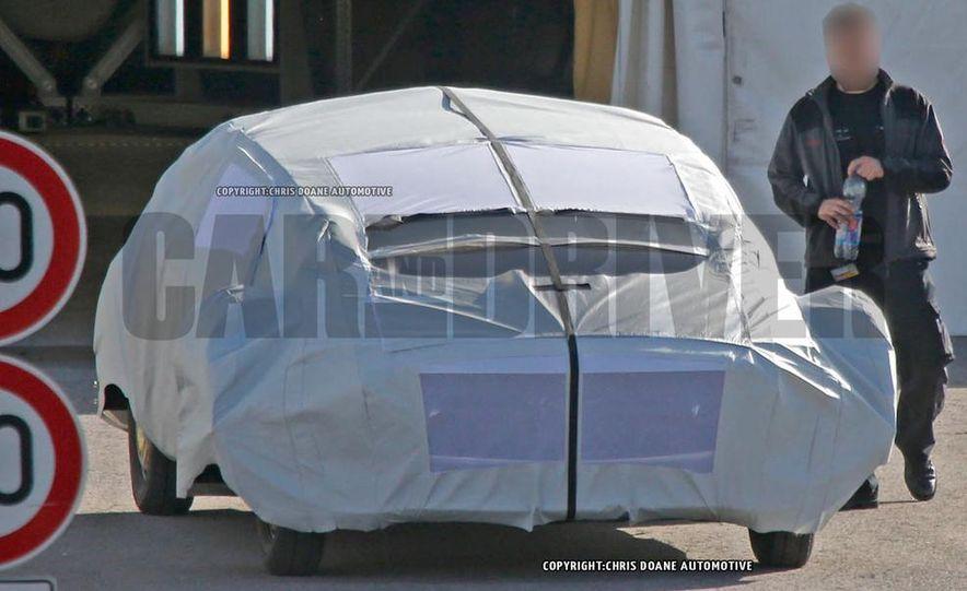 Mercedes-Benz secret concept vehicle (spy photo) - Slide 9