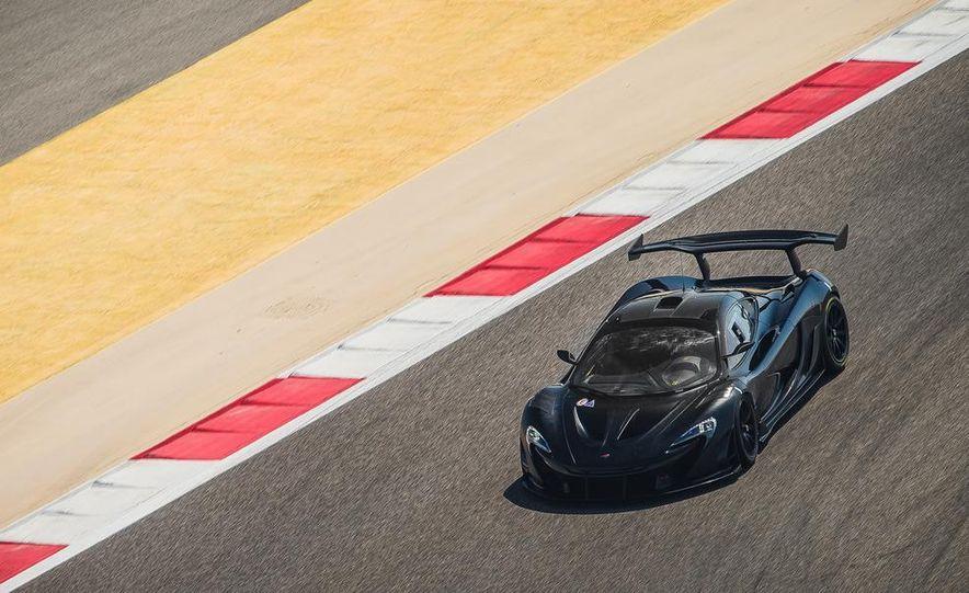 McLaren P1 GTR - Slide 1