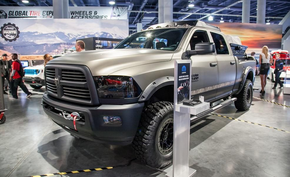 Ram 2500 Outdoorsman Concept Pictures Photo Gallery Car And Driver