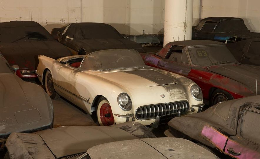 Peter Max Corvette Collection Exhumed from Parking-Garage Purgatory - Slide 4