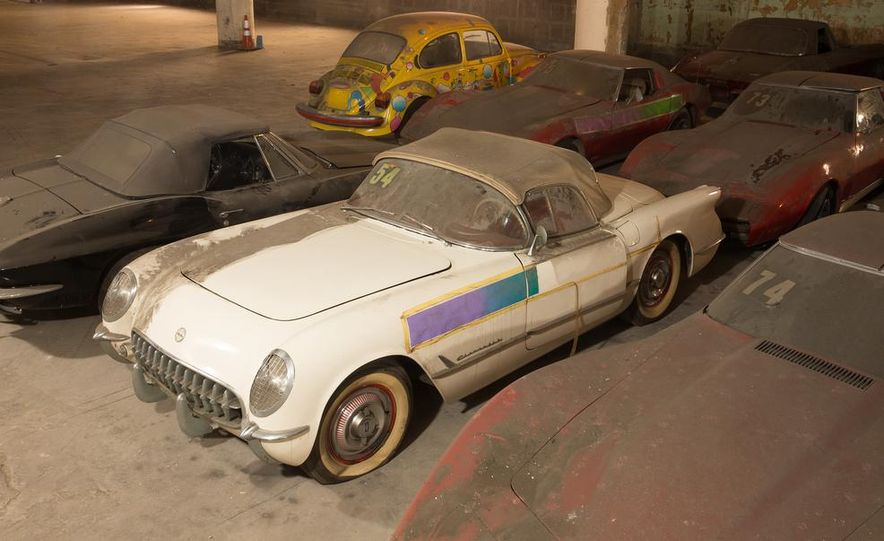 Peter Max Corvette Collection Exhumed from Parking-Garage Purgatory - Slide 5