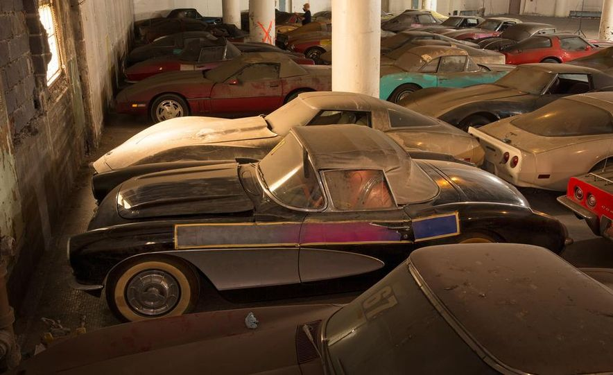 Peter Max Corvette Collection Exhumed from Parking-Garage Purgatory - Slide 8