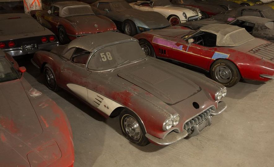 Peter Max Corvette Collection Exhumed from Parking-Garage Purgatory - Slide 10