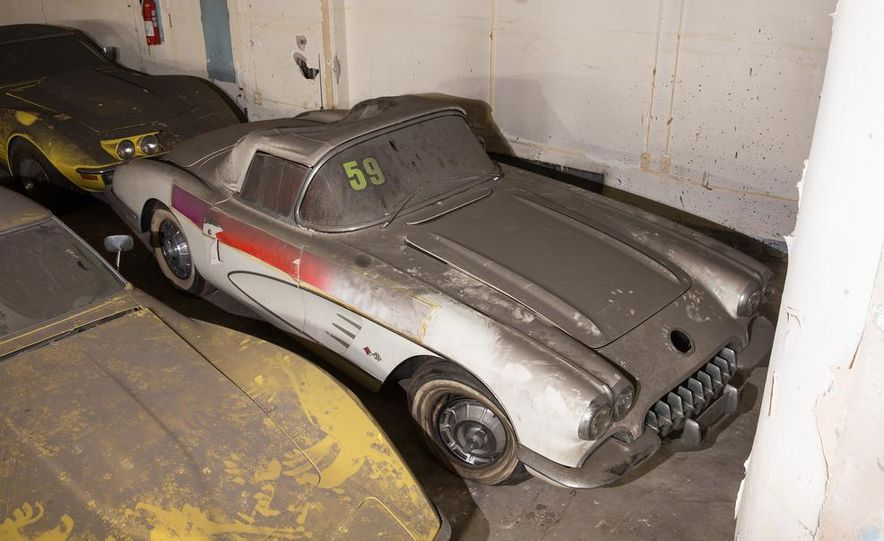 Peter Max Corvette Collection Exhumed from Parking-Garage Purgatory - Slide 11