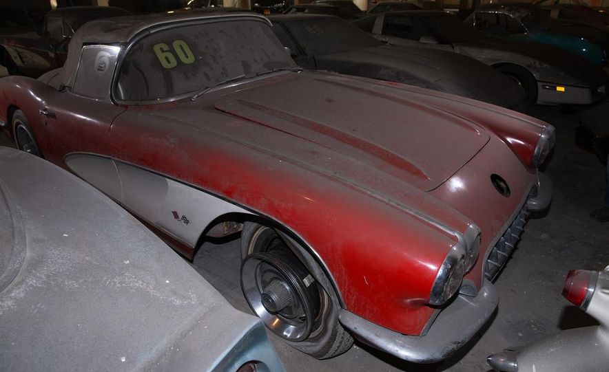 Peter Max Corvette Collection Exhumed from Parking-Garage Purgatory - Slide 12