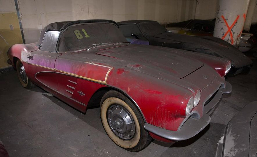 Peter Max Corvette Collection Exhumed from Parking-Garage Purgatory - Slide 13