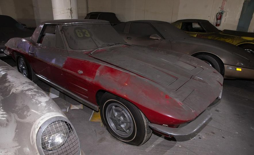 Peter Max Corvette Collection Exhumed from Parking-Garage Purgatory - Slide 15