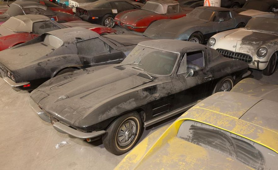 Peter Max Corvette Collection Exhumed from Parking-Garage Purgatory - Slide 16