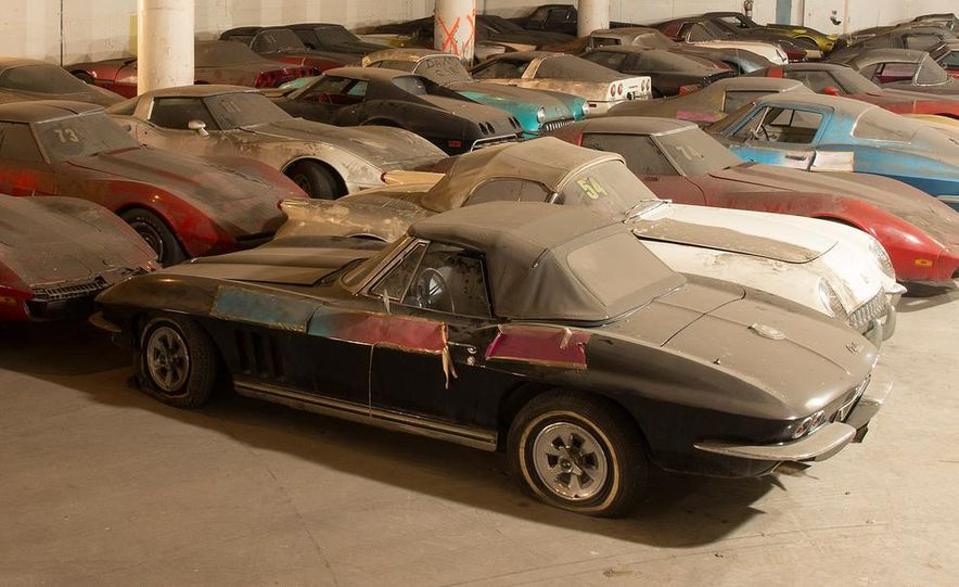 Peter Max Corvette Collection Exhumed from Parking-Garage Purgatory - Slide 17