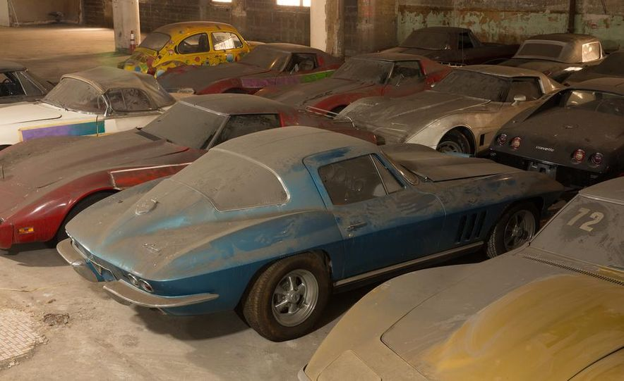 Peter Max Corvette Collection Exhumed from Parking-Garage Purgatory - Slide 18