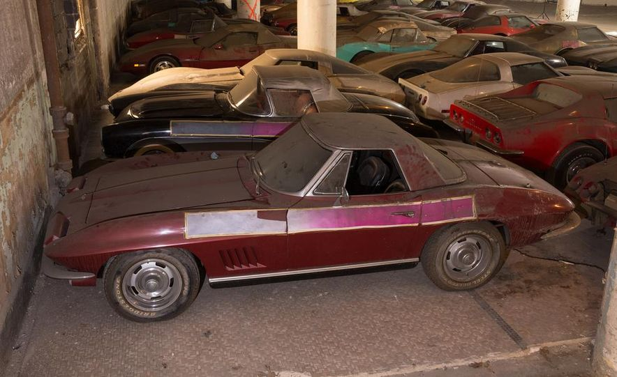 Peter Max Corvette Collection Exhumed from Parking-Garage Purgatory - Slide 19