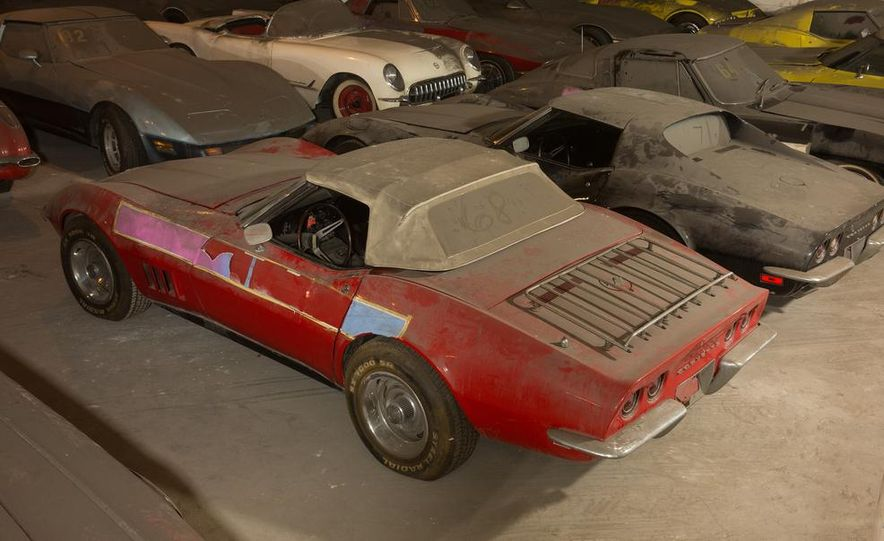 Peter Max Corvette Collection Exhumed from Parking-Garage Purgatory - Slide 20