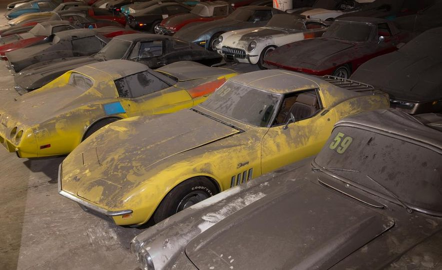 Peter Max Corvette Collection Exhumed from Parking-Garage Purgatory - Slide 21